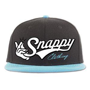 SnappySnapbackAqua2Mock