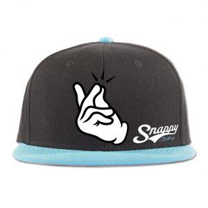 SnappySnapbackAquaMock
