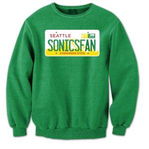 SonicsPlateSweatshirtMock