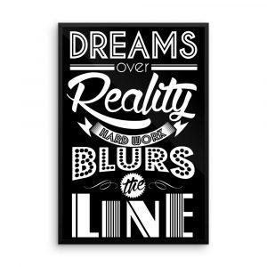 DreamsFramedPoster24x36